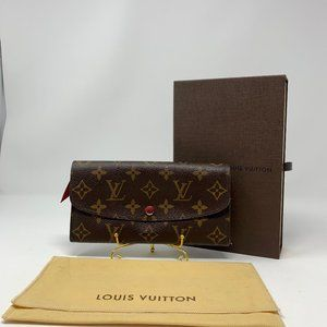 Louis Vuitton Emilie Wallet Monogram